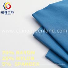 Rayon Spandex Nylon Fabric to Woman Garments Industry (GLLML463)