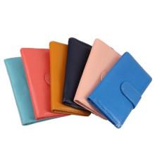 Fashion PU Leather Women's Card Wallet & Purse/