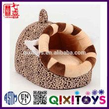 Hot sale pet house item wholesale latest dog beds designs plush pet house 52*40*35cm