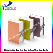 Pantone Color Printing Book Shape Cosmetic Gift Box for Skin Lotion