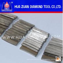Горячая Продажа алмазных сегментов для резки гранита