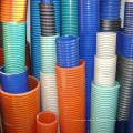 Manguera flexible de succión y descarga de hélice espiral de PVC