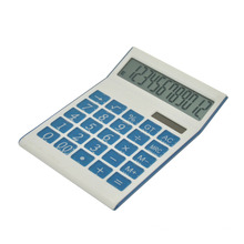 12 Digits Dual Power Semi Office Calculator