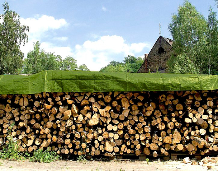 Wood Piles Cover