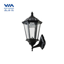 Energy saving solar powered wall lamps outdoor