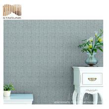 recyclable water proof mural living room 3d vinyl woven wallpaper