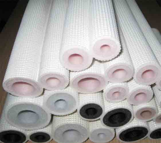 white insulation tube