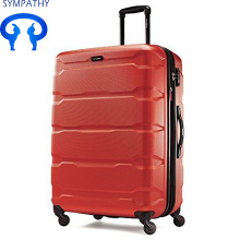Custom travel trolley case luggage check box
