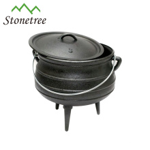 Südafrika Cast Iron 3-beiniger Potjie Pot