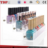 3 Size Hot Makeup Stand Organizer Holder Clear Acrylic Nail Polish Display Rack