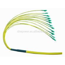 Pigtail de fibra ótica LC APC / PC SX SM pigtail para FTTH
