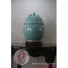 Modern Design Good Quality Hand-Made Celadon Glaze Ceramic