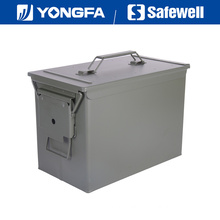 Fat. 50 Cal Metal Bullet Box Ammo Can for Gun Safe
