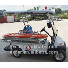 Tipo de la manera del carro de la ambulancia del carro de golf de 2 personas barato para la venta