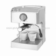 Espresso machine with 3.5bar and coffee maker, team maker, capsule machine function