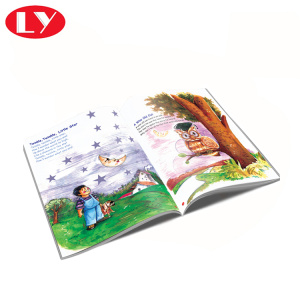 Hardcover Children Tales Book Full Color Printed
