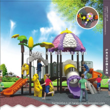 2015 Free design outdoor made in china kids plastic playground