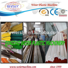 PVC T shaped edge banding profile extrusion line