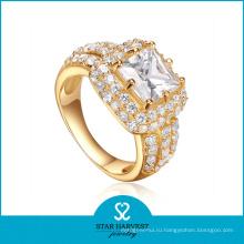 Оптовая стерлингового серебра годовщины 925 кольцо с CZ (Р-0611)
