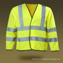 Chaleco de seguridad EN ISO 20471 / EN 471 con manga larga