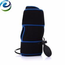 Compresses froides médicales de refroidissement de blessure de tissu mou de compression d'air de genou