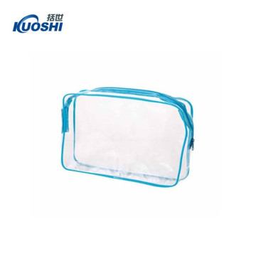 Clear plastic cosmetic bag transparent wholesale