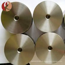 Diâmetro puro alto 50mm a 200mm alvo sputtering de titânio