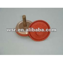 poppet valve rubber to metal moulding