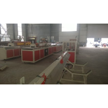 Wood plastic machine / SINGLE SCREW EXTRUDER MACHINE FOR PVC WPC MACHINERY