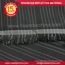 High visible polyester reflective shirt fabric