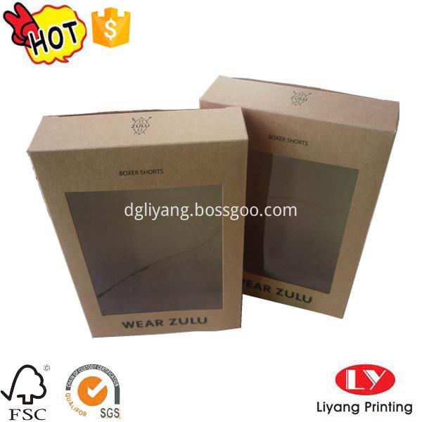 kraft paper underwear box
