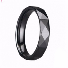New Design Wholesale My Style Fashion Jewelry Flat Rings Promotion Hand Made Special Dark Ceramic Rings For Man