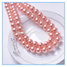 Chine, bien connue, perles de perles en verre rond pujiang