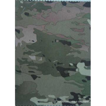 Tissu imperméable de polyester de camouflage de 900d avec le revêtement de PVC