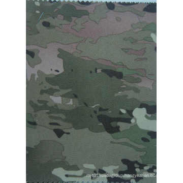900d Waterproof Camouflage Polyester Fabric with PVC Coating