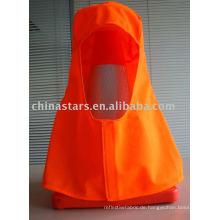 Hohe Sichtbarkeit in orange und gelber Farbe