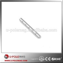 Imán permanente de la barra del recubrimiento de níquel de la alta calidad