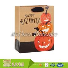 Innovative Halloween Design Offset Druck Fabrik Großhandel Custom Goodie Papier Geschenktüten Online