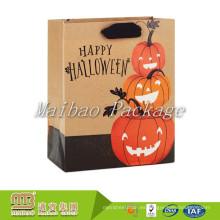 Diseño innovador de Halloween Offset Printing Factory Comercio al por mayor de encargo Goodie Paper Gift Bags en línea