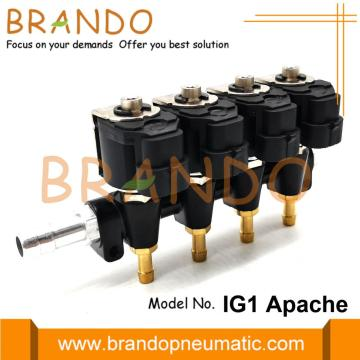 OMB Typ IG1 APACHE Rail Injector 4Cyl 3Ohms