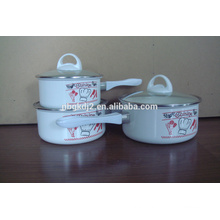 durable enamel cookware sets by professional factory