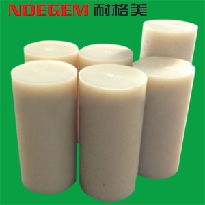 White beige Nylon Plastic Rod