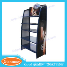 New 5 Tiers Floor Standing Oil Bottle Rack Display Stand for Oil