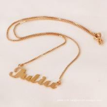 Unique Rose Gold Lover Necklace