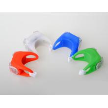 Резиновый цветной задний фонарь для велосипеда