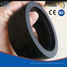 Гидровлическая V-Упаковка компактная уплотнения с однородными берег NBR 90 резина