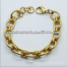 Neu kommen Charmemädchen-Goldarmbänder an