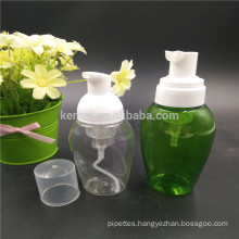 Plastic PET foam pump bottles