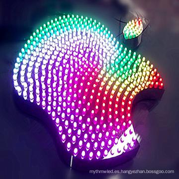 Al aire libre grandes LED iluminar cartas comerciales