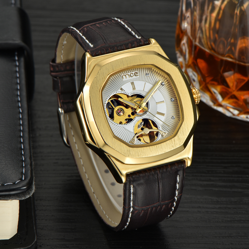 casual waterproof bracelet big watches boys men watches